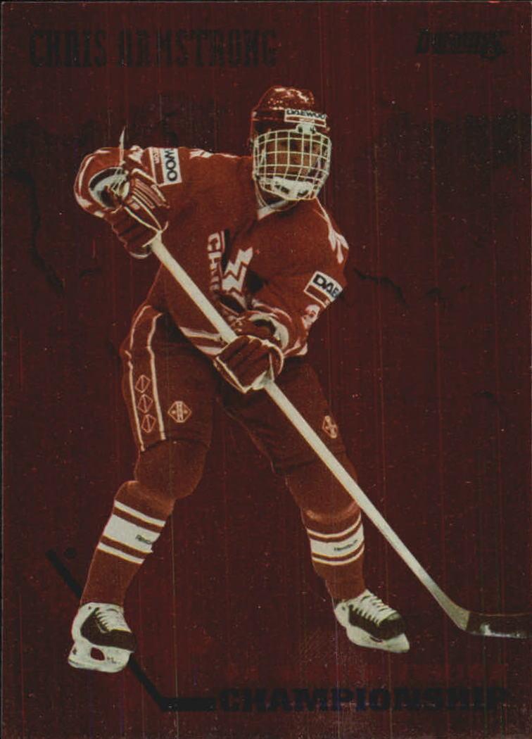 1993-94 Donruss Team Canada #2 Chris Armstrong