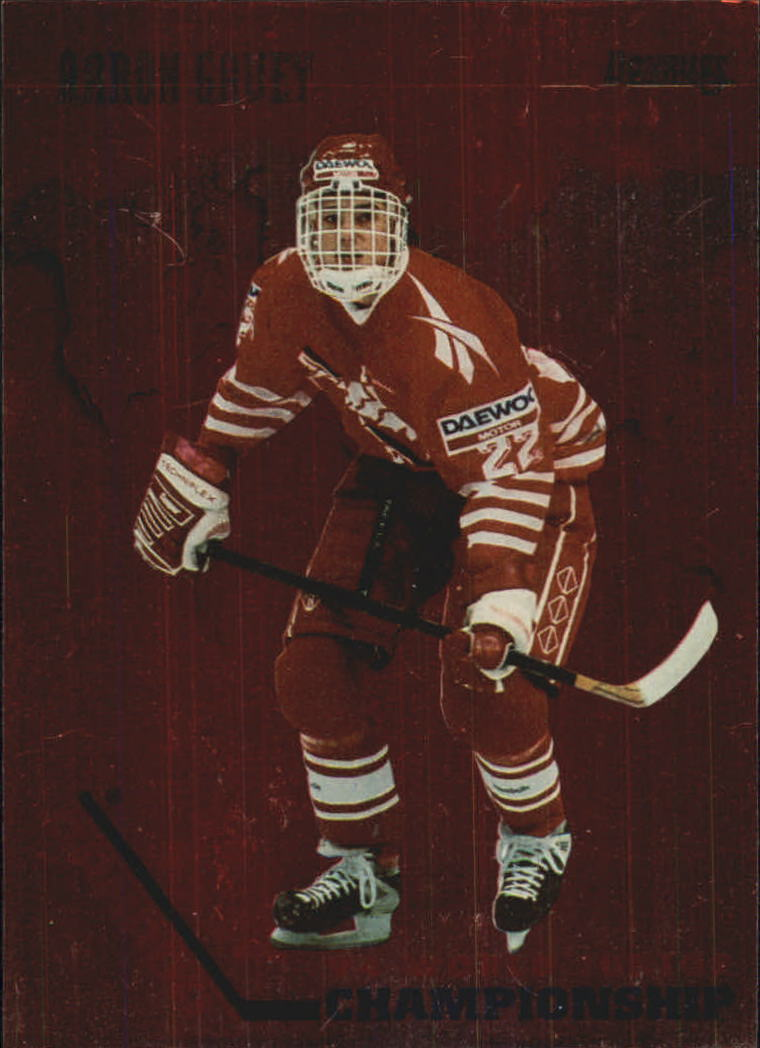 1993-94 Donruss Team Canada #12 Aaron Gavey
