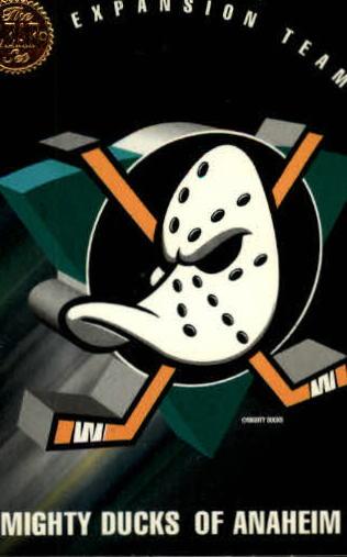 1993-94 Leaf #200 Anaheim Mighty Ducks