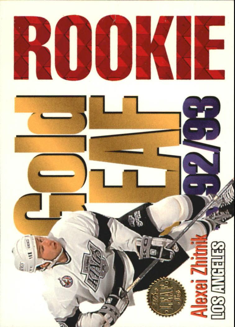 1993-94 Leaf Gold Rookies #8 Alexei Zhitnik