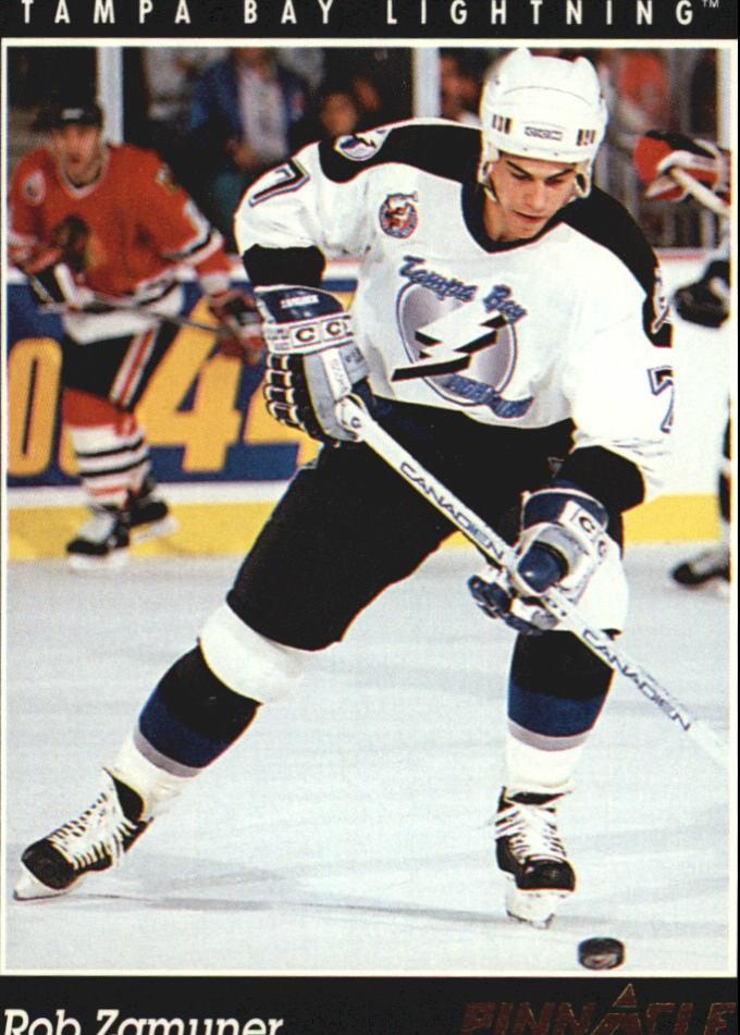 1993-94 Pinnacle #121 Rob Zamuner