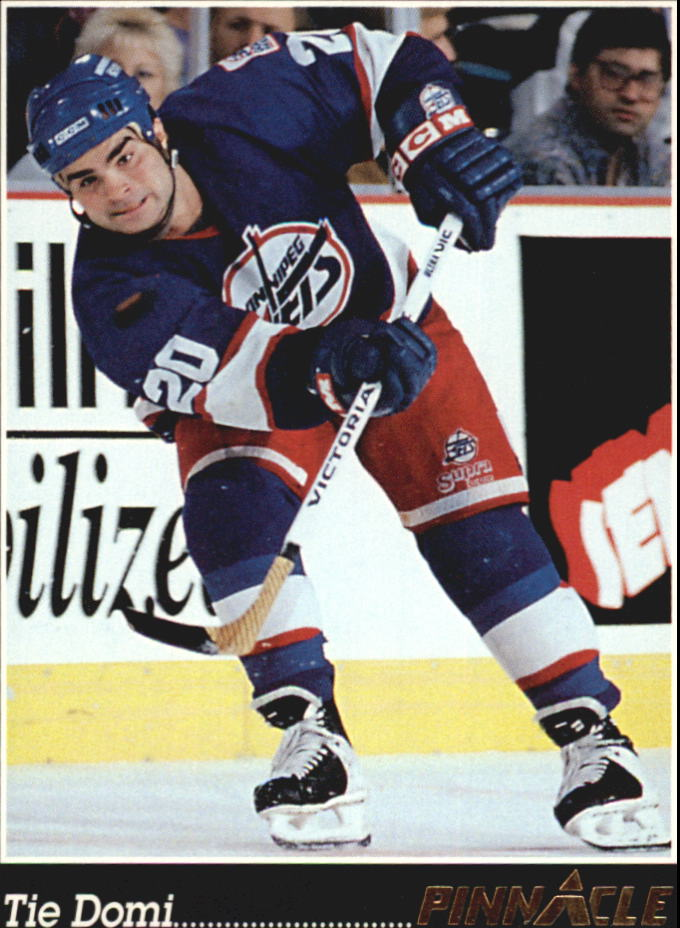 1993-94 Pinnacle #295 Tie Domi