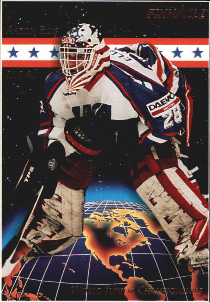 1993-94 Pinnacle #479 Aaron Ellis RC