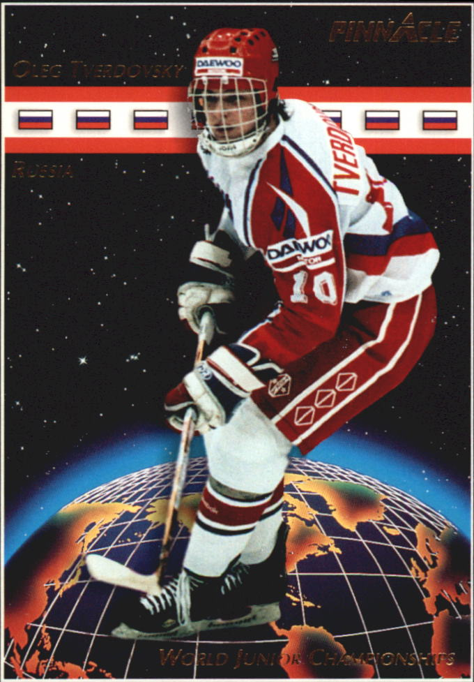 1993-94 Pinnacle #506 Oleg Tverdovsky RC