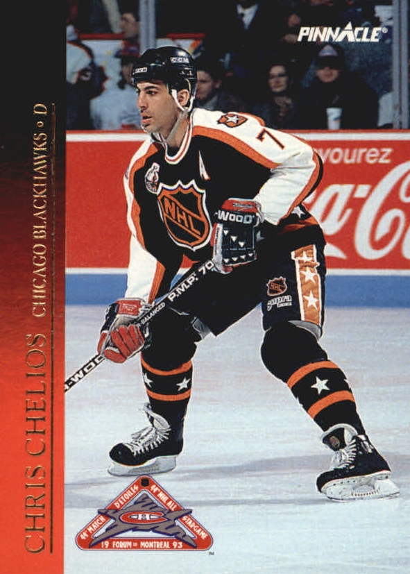 1993-94 Pinnacle All-Stars #26 Chris Chelios
