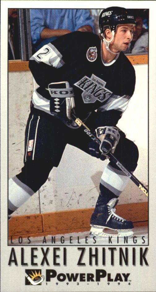 1993-94 PowerPlay #123 Alexei Zhitnik