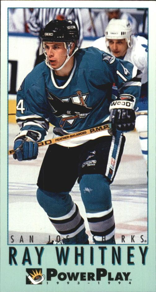 1993-94 PowerPlay #439 Ray Whitney