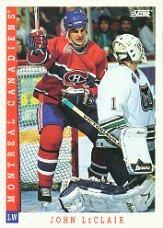 1993-94 Score #318 John LeClair