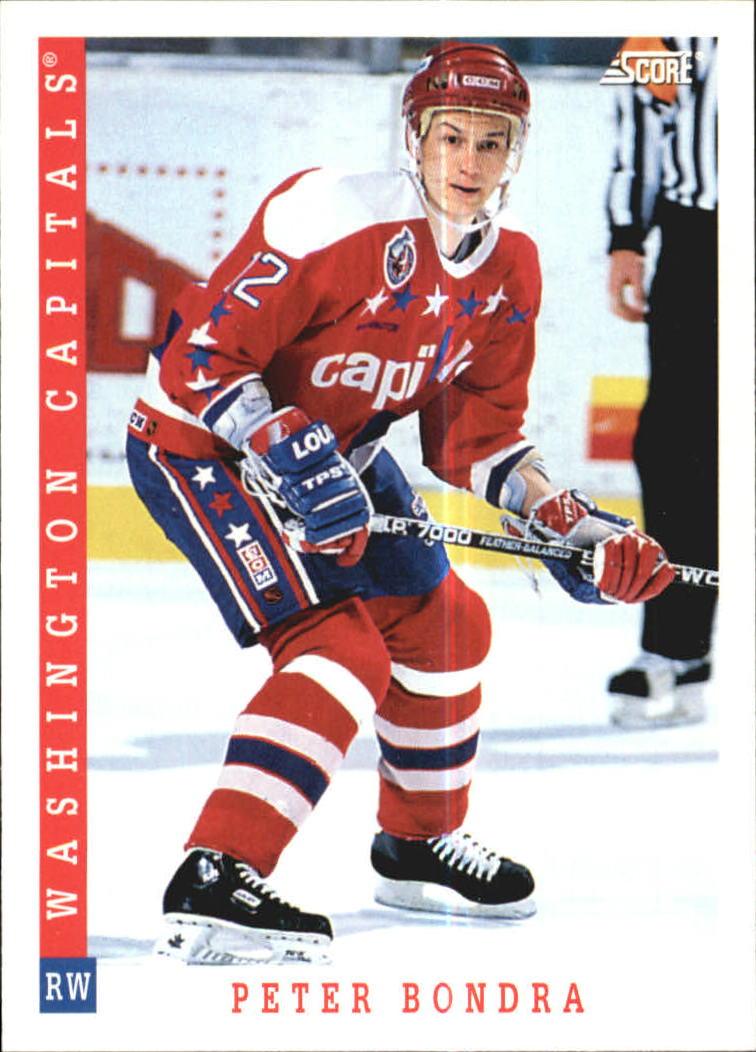 1993-94 Score #344 Peter Bondra