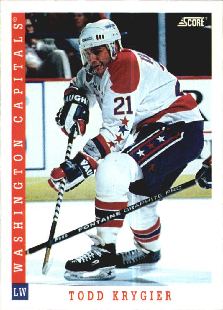 1993-94 Score #357 Todd Krygier