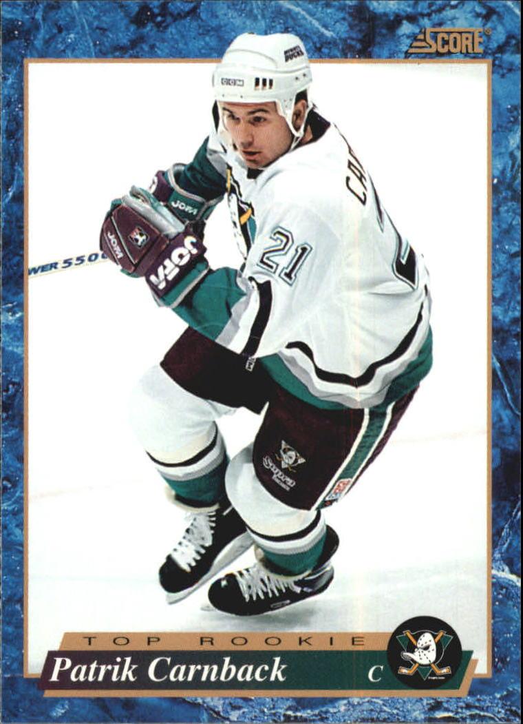 1993-94 Score Canadian #615 Patrick Carnback RC