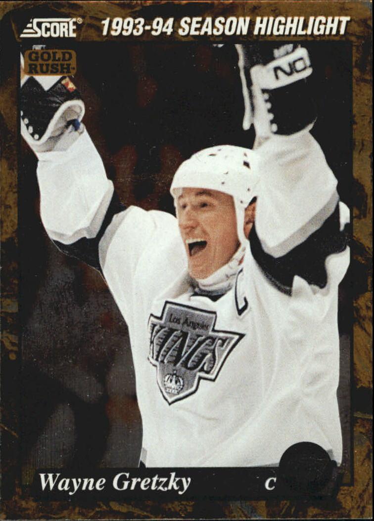 1993-94 Score Gold Rush #662 Wayne Gretzky