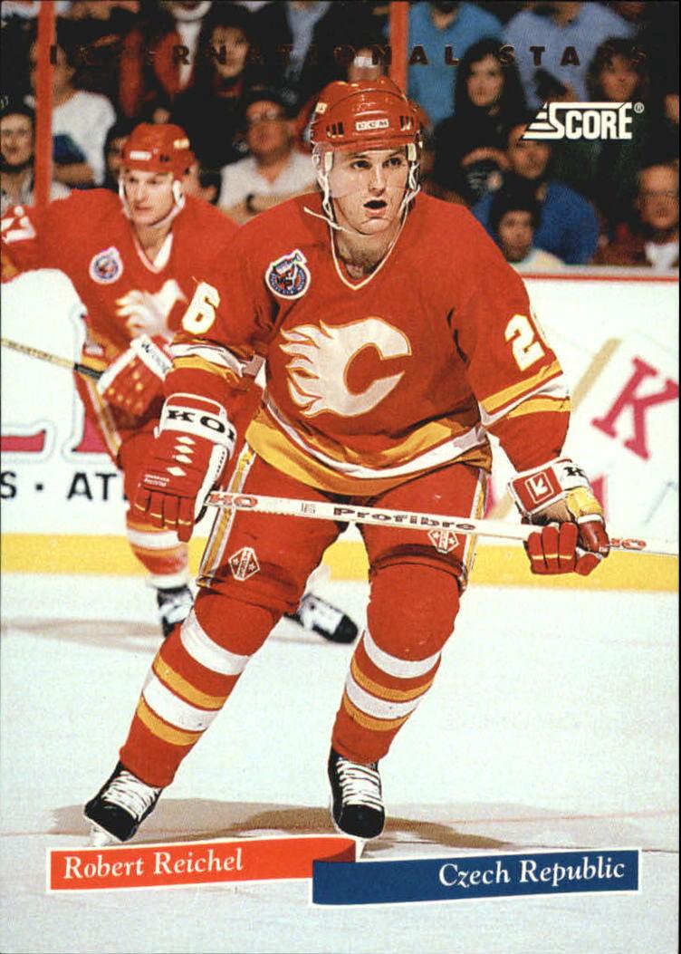 1993-94 Score International Stars #6 Robert Reichel