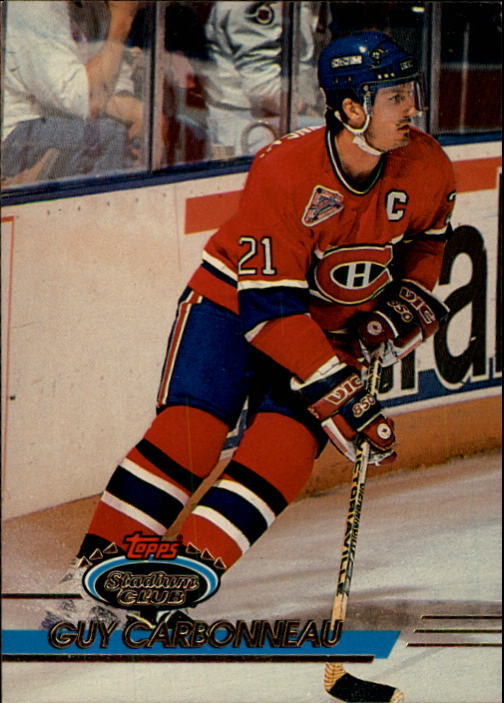 1993-94 Stadium Club #1 Guy Carbonneau