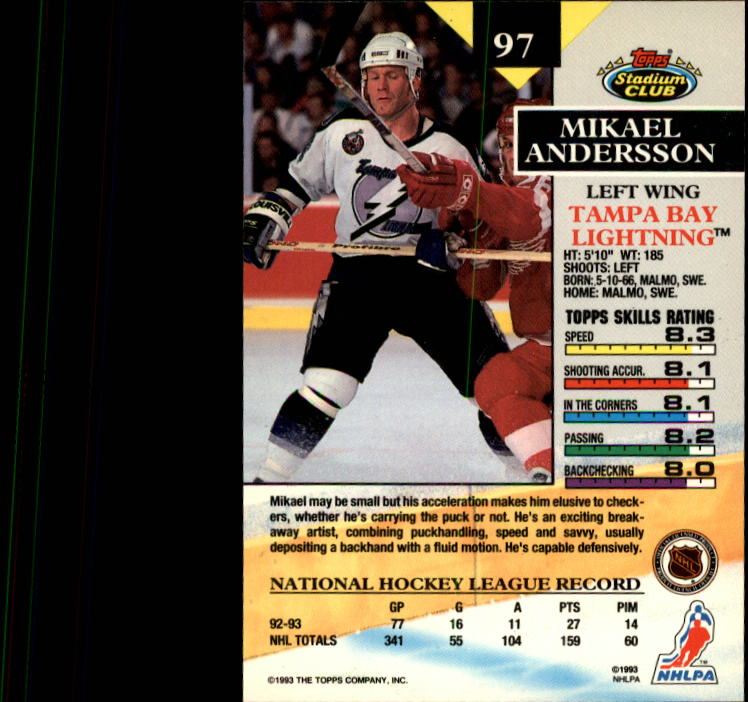 1993-94-Stadium-Club-Hockey-1-250-Your-Choice-GOTBASEBALLCARDS