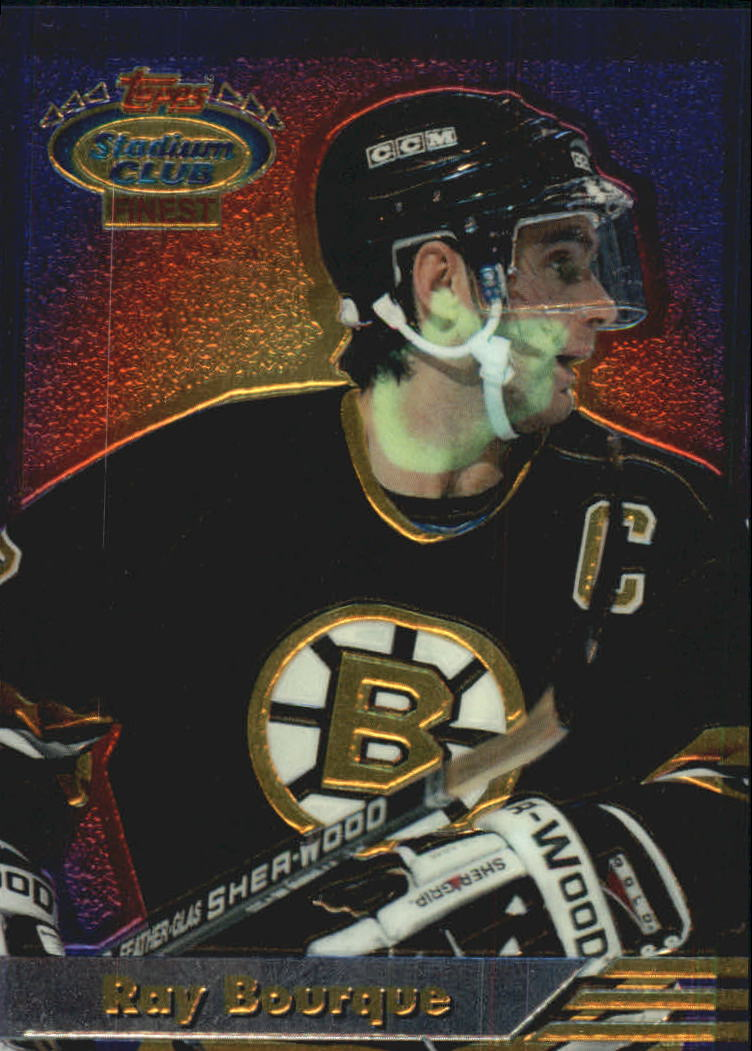 1993-94 Stadium Club Finest Inserts #12 Ray Bourque