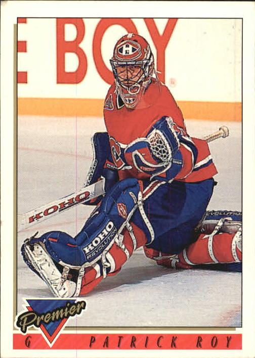 1993-94 Topps Premier #1 Patrick Roy