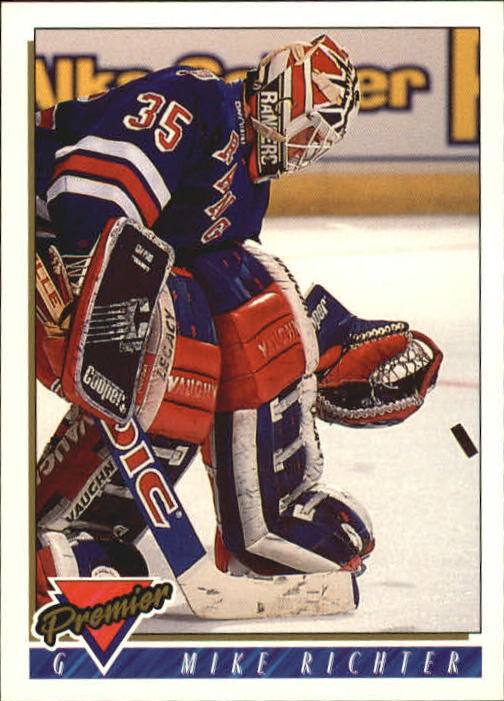 1993-94 Topps Premier #135 Mike Richter