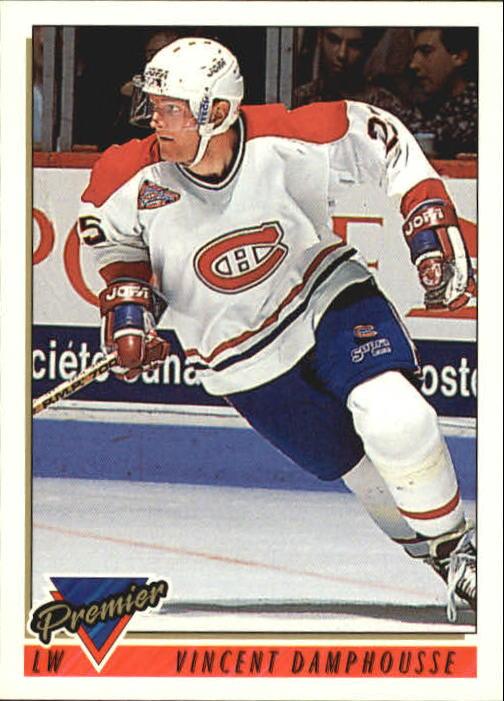 1993-94 Topps Premier #233 Vincent Damphousse