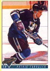1993-94 Topps Premier #379 Patrick Carnback RC