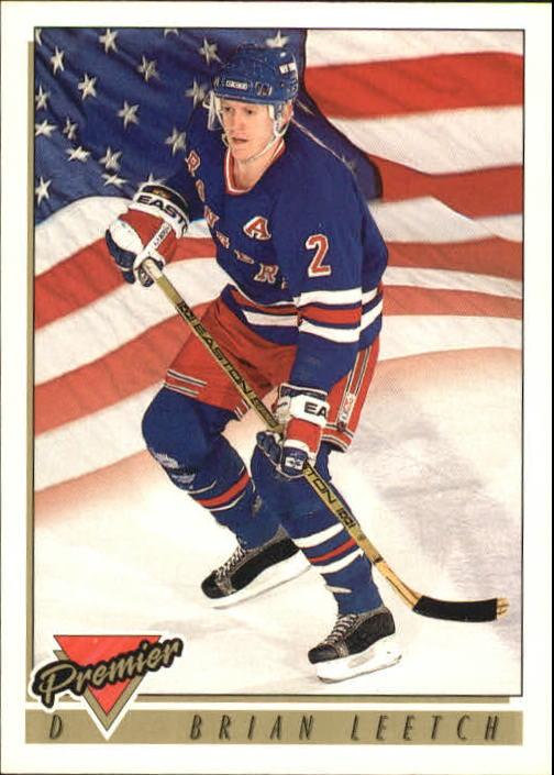 1993-94 Topps Premier #505 Brian Leetch USA