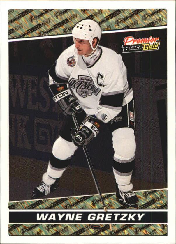1993-94 Topps Premier Black Gold #7 Wayne Gretzky