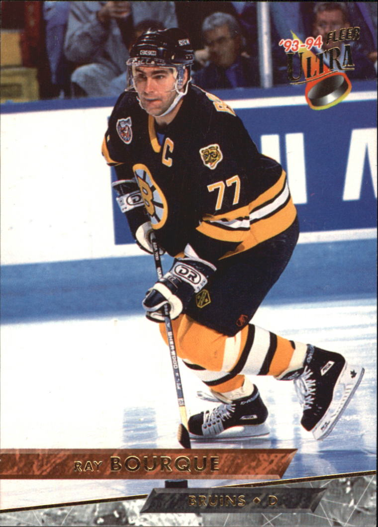 1993-94 Ultra #1 Ray Bourque UER