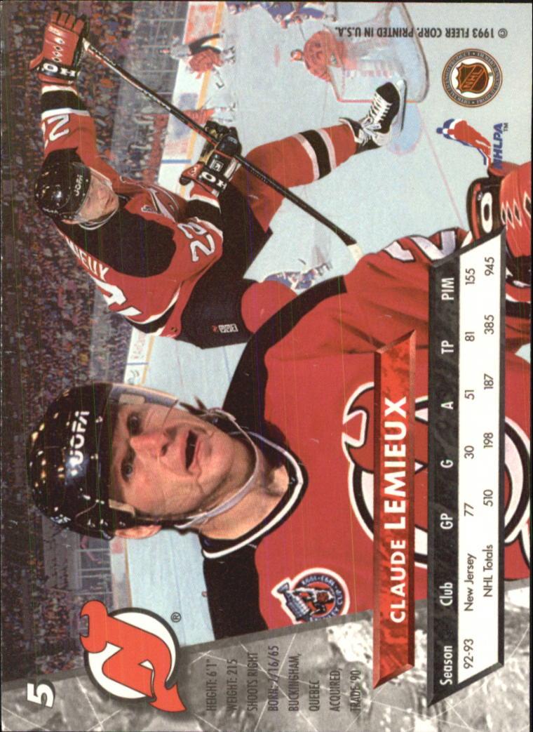 1993-94-Ultra-Hockey-1-250-Your-Choice-GOTBASEBALLCARDS thumbnail 9