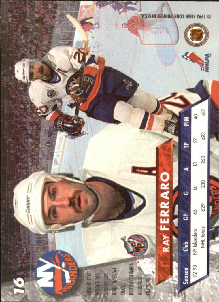 1993-94-Ultra-Hockey-1-250-Your-Choice-GOTBASEBALLCARDS thumbnail 31