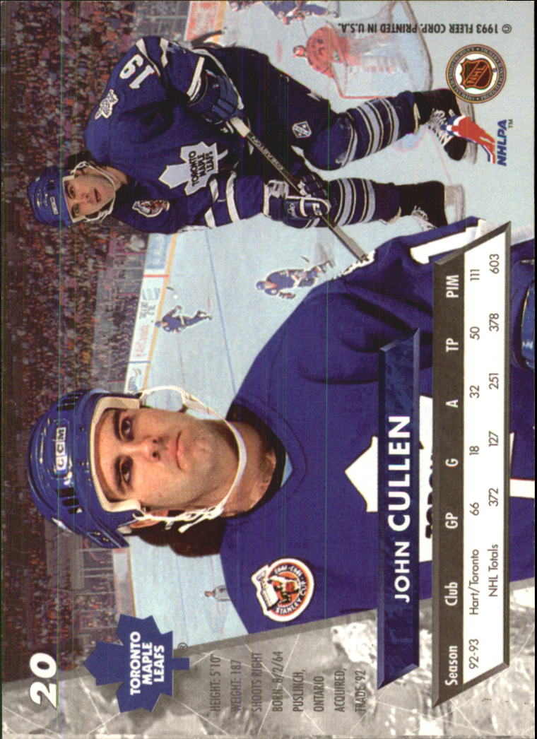 1993-94-Ultra-Hockey-1-250-Your-Choice-GOTBASEBALLCARDS thumbnail 39