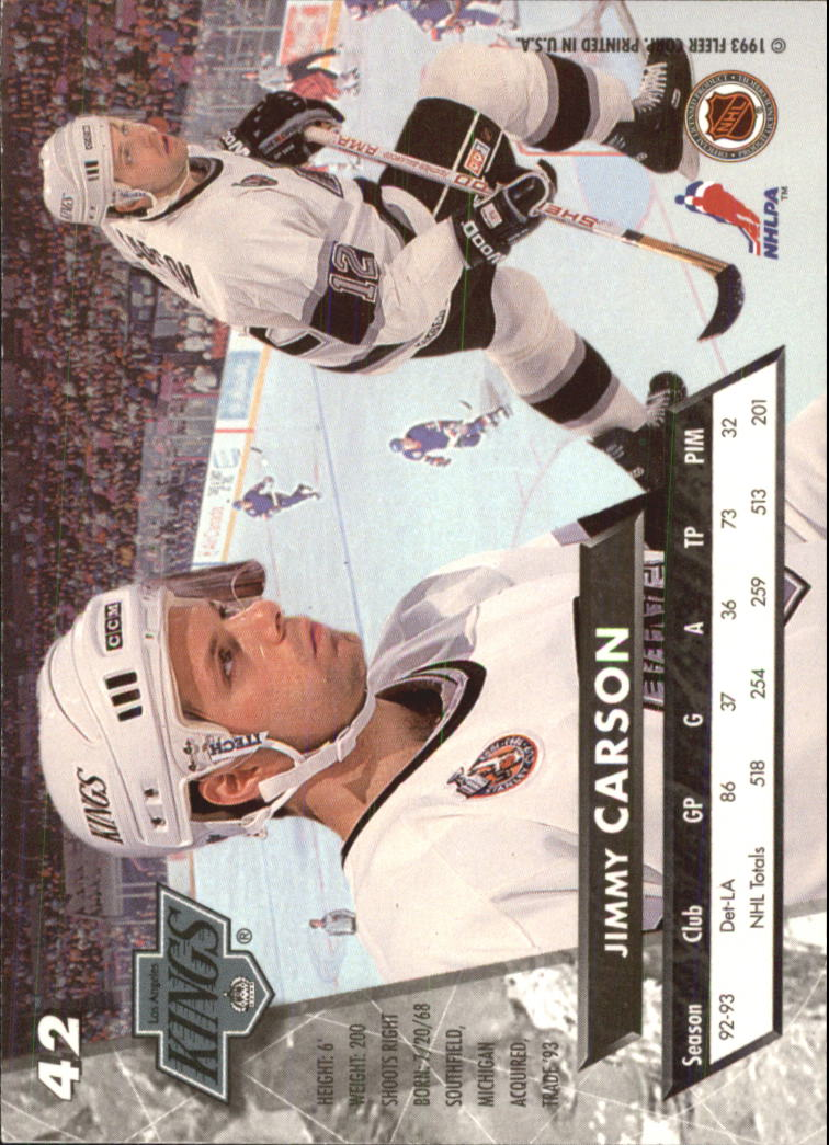 1993-94-Ultra-Hockey-1-250-Your-Choice-GOTBASEBALLCARDS thumbnail 83