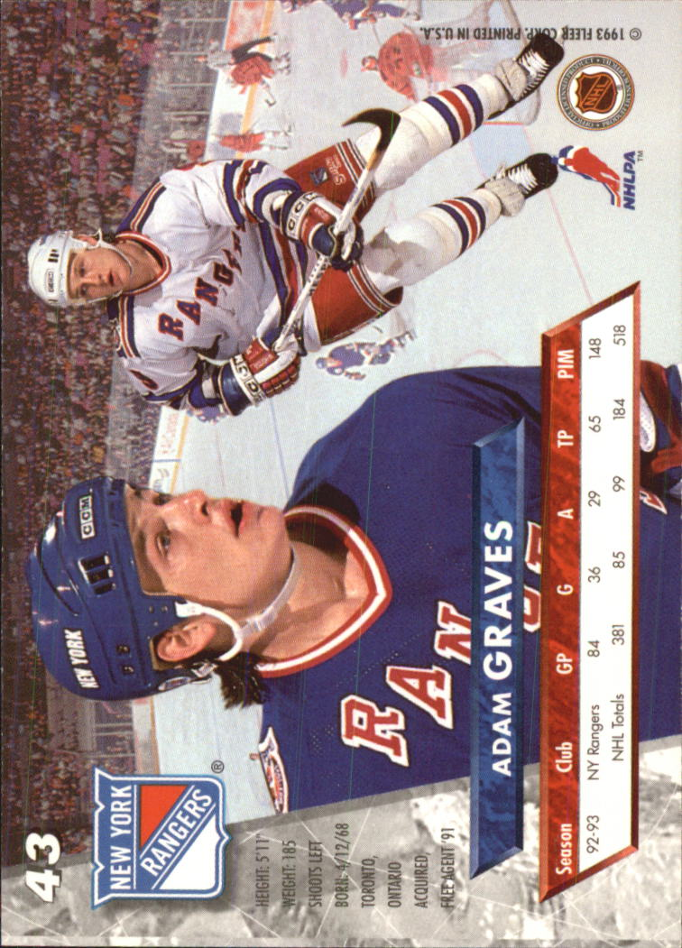 1993-94-Ultra-Hockey-1-250-Your-Choice-GOTBASEBALLCARDS thumbnail 85