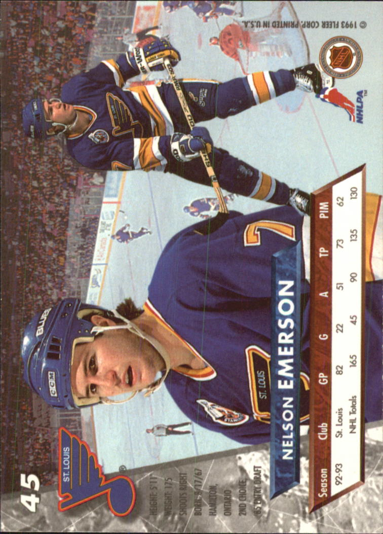 1993-94-Ultra-Hockey-1-250-Your-Choice-GOTBASEBALLCARDS thumbnail 89