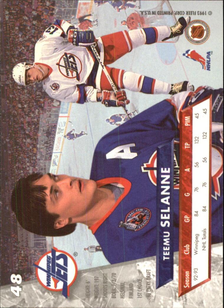 1993-94-Ultra-Hockey-1-250-Your-Choice-GOTBASEBALLCARDS thumbnail 93