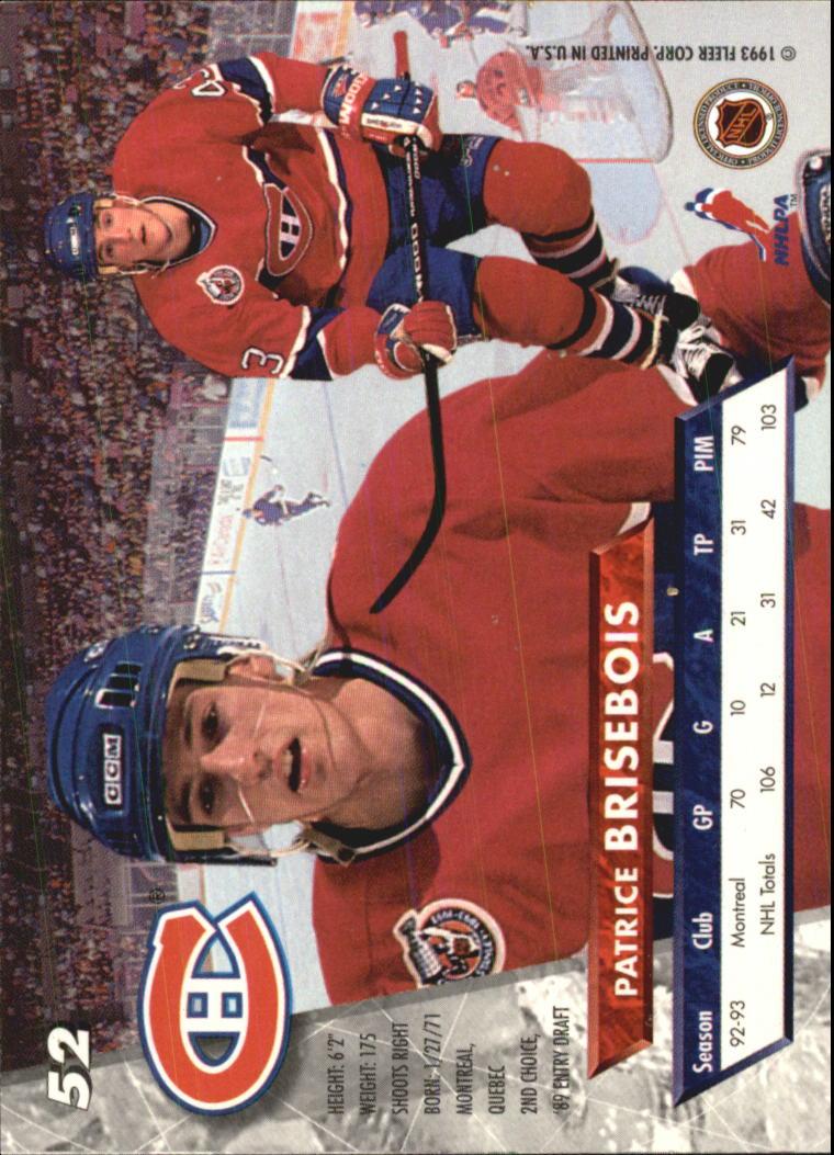 1993-94-Ultra-Hockey-1-250-Your-Choice-GOTBASEBALLCARDS thumbnail 101