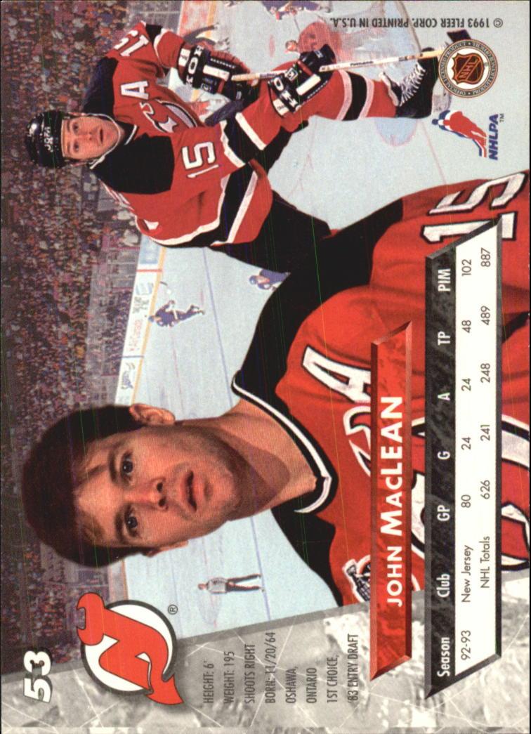 1993-94-Ultra-Hockey-1-250-Your-Choice-GOTBASEBALLCARDS thumbnail 103