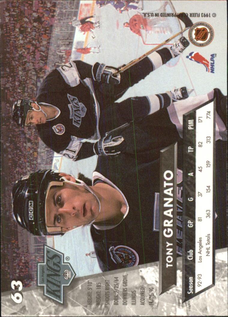 1993-94-Ultra-Hockey-1-250-Your-Choice-GOTBASEBALLCARDS thumbnail 121