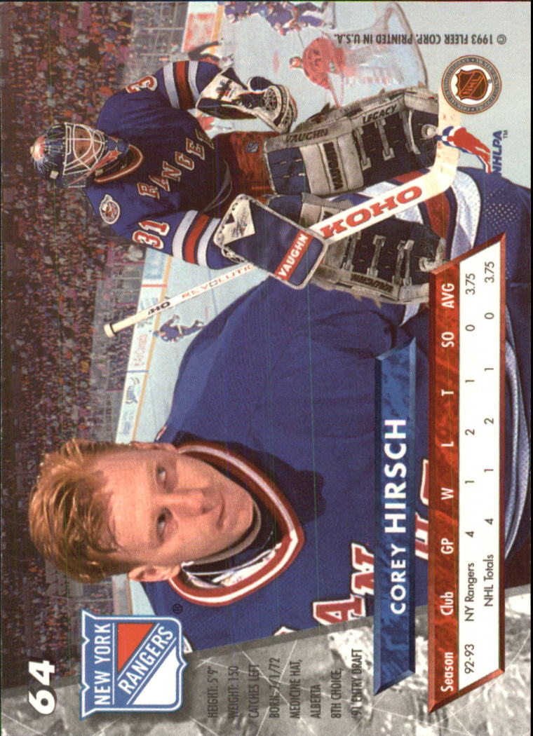 1993-94-Ultra-Hockey-1-250-Your-Choice-GOTBASEBALLCARDS thumbnail 123