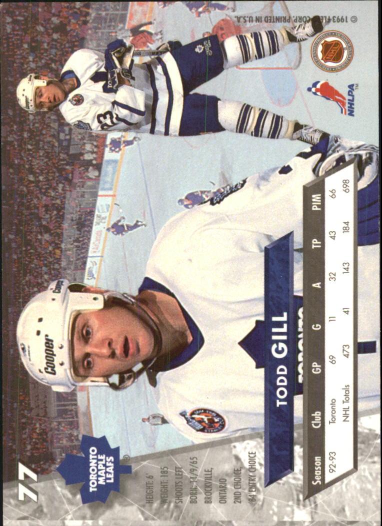 1993-94-Ultra-Hockey-1-250-Your-Choice-GOTBASEBALLCARDS thumbnail 147