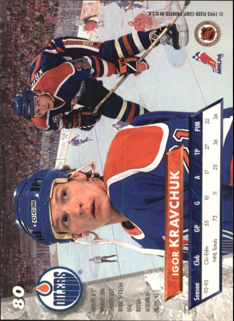1993-94-Ultra-Hockey-1-250-Your-Choice-GOTBASEBALLCARDS thumbnail 151