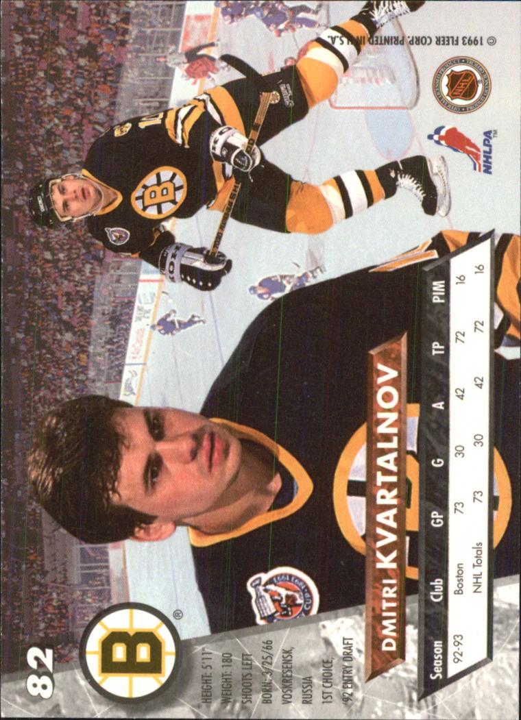 1993-94-Ultra-Hockey-1-250-Your-Choice-GOTBASEBALLCARDS thumbnail 155