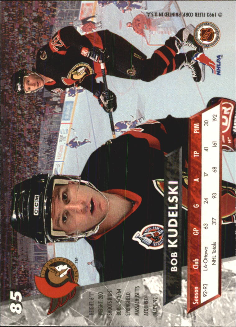 1993-94-Ultra-Hockey-1-250-Your-Choice-GOTBASEBALLCARDS thumbnail 161