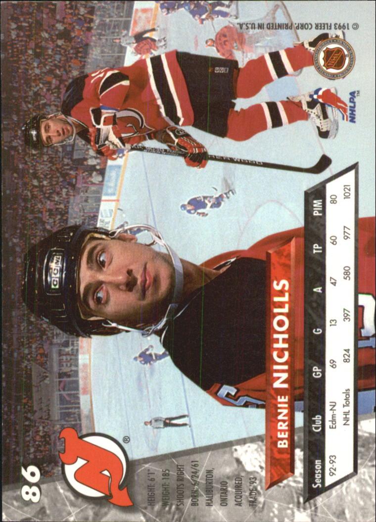 1993-94-Ultra-Hockey-1-250-Your-Choice-GOTBASEBALLCARDS thumbnail 163