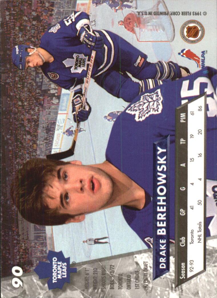 1993-94-Ultra-Hockey-1-250-Your-Choice-GOTBASEBALLCARDS thumbnail 167