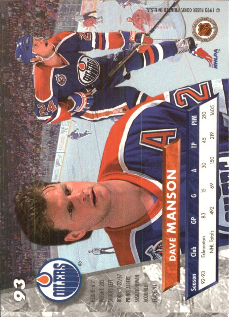1993-94-Ultra-Hockey-1-250-Your-Choice-GOTBASEBALLCARDS thumbnail 173