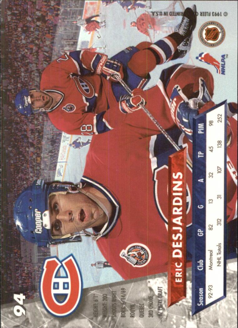 1993-94-Ultra-Hockey-1-250-Your-Choice-GOTBASEBALLCARDS thumbnail 175