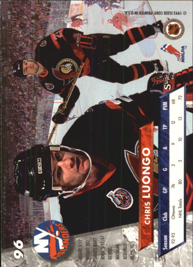 1993-94-Ultra-Hockey-1-250-Your-Choice-GOTBASEBALLCARDS thumbnail 179