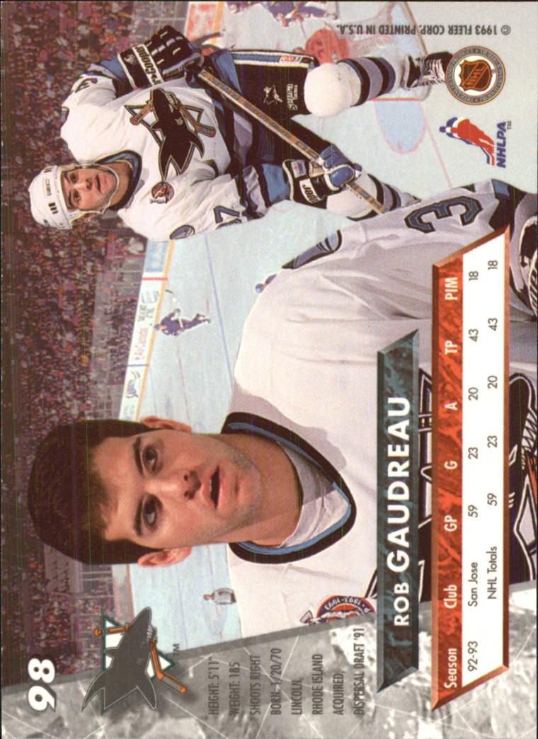 1993-94-Ultra-Hockey-1-250-Your-Choice-GOTBASEBALLCARDS thumbnail 183