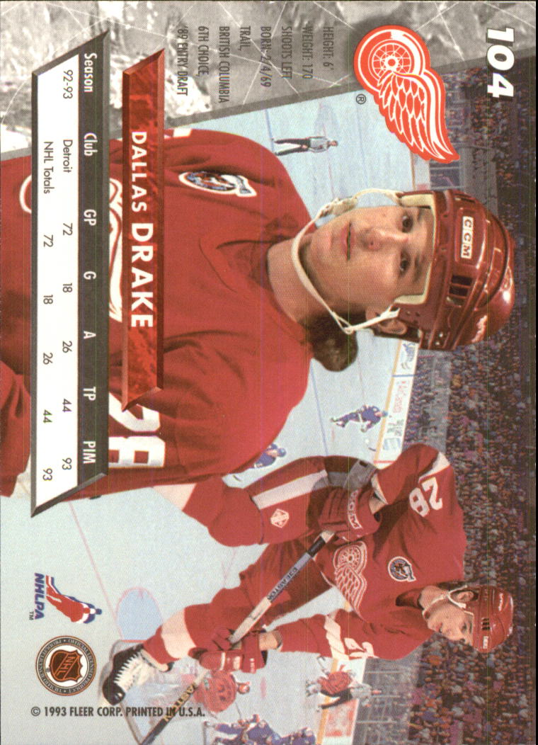 1993-94-Ultra-Hockey-1-250-Your-Choice-GOTBASEBALLCARDS thumbnail 195