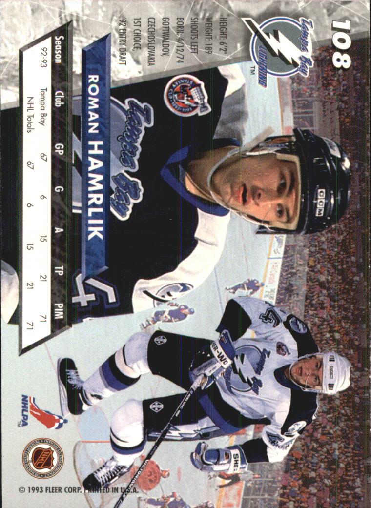 1993-94-Ultra-Hockey-1-250-Your-Choice-GOTBASEBALLCARDS thumbnail 201